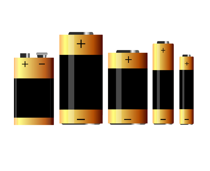 five batteries - Fotolia_14355010_Subscription_XXL